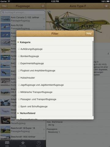 1000 Flugzeuge aus aller Welt screenshot 7