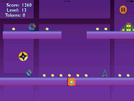 Bouncing Spikes Amazing PRO - Temple Geometry Jump screenshot 10