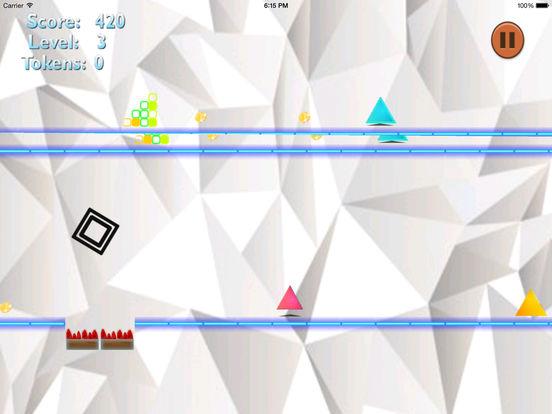 A Cube Run Escalation - Jump Run Go! screenshot 7