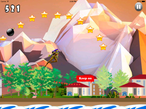 A Fantastic In Funny Jumps PRO - Girl Jumping Game screenshot 7
