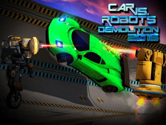 Car Vs. Robots Demolition 2016 screenshot 5