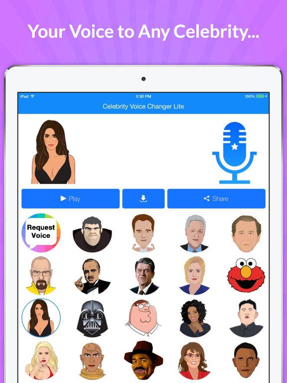 Celebrity Voice Changer - Face screenshot 7