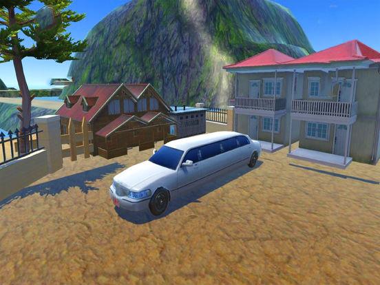 Off-Road Limousine Hill Climbing : Real Car Drive screenshot 5