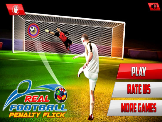 Real Football Penalty Flick : Hero-es Kicks Shots screenshot 5