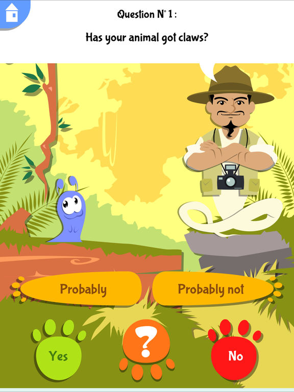 Akinator Safari screenshot 8