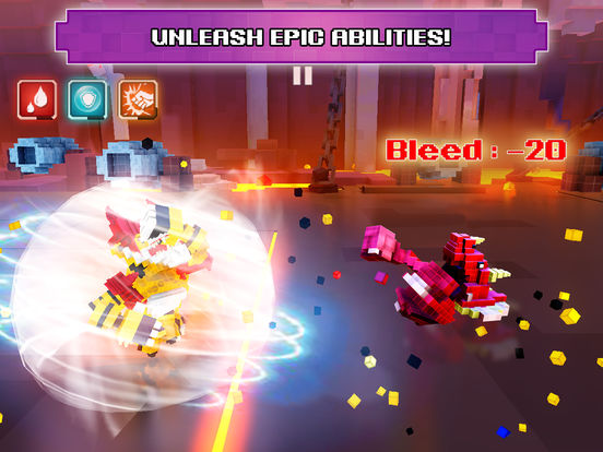 Super Pixel Heroes 2019 screenshot 9