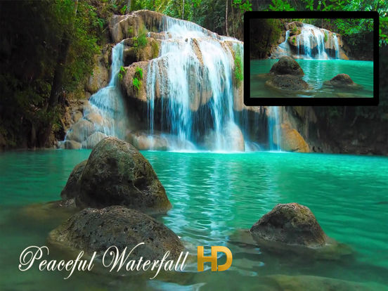 Peaceful Waterfall HD screenshot 5