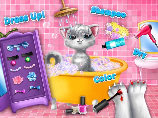 Sweet Baby Girl Cat Shelter – Pet Vet Doctor Care screenshot 8