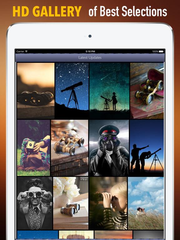 Binoculars Wallpapers HD: Quotes Backgrounds screenshot 6