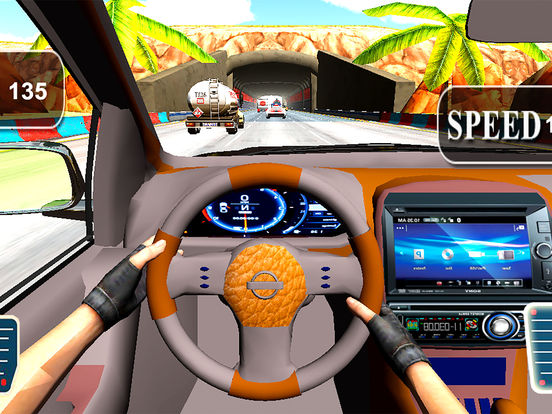 Asphalt City Traffic: 3D Turbo Most Wanted Race screenshot 6