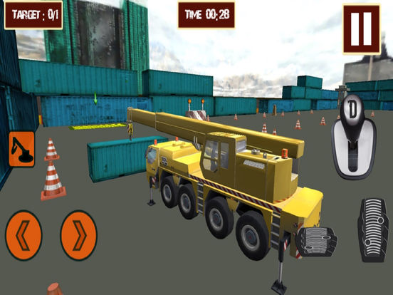 Real Crane CPEC : 3D Sim-ulation Game-s 2016 screenshot 5