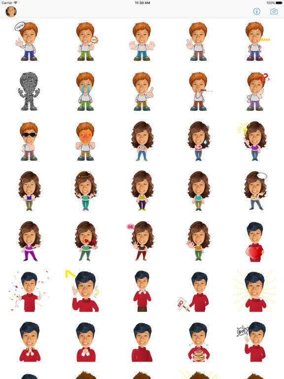 TopMoji - Make animated emoji with your avatar screenshot 6