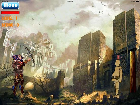 A Mega Arrow Of Live Girl HD - Super Fun Game Bow And Arrow screenshot 7