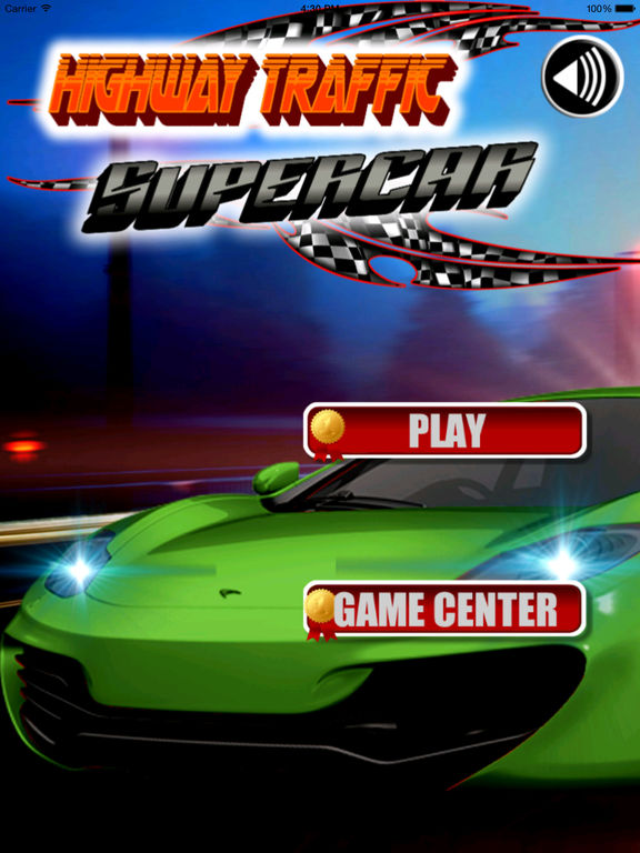 Highway Traffic Supercar - Furious Posted Speed Limit screenshot 6