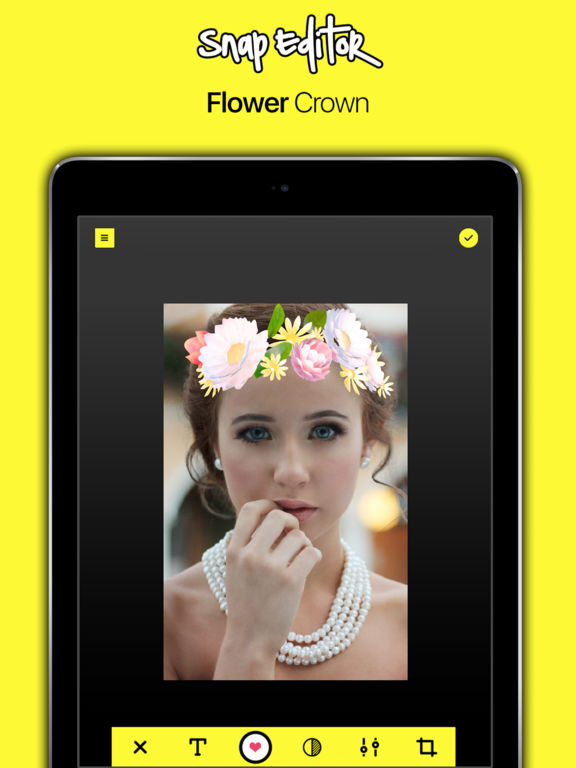 Flower Crown Filter On Snapchat Apk - Flowers Healthy