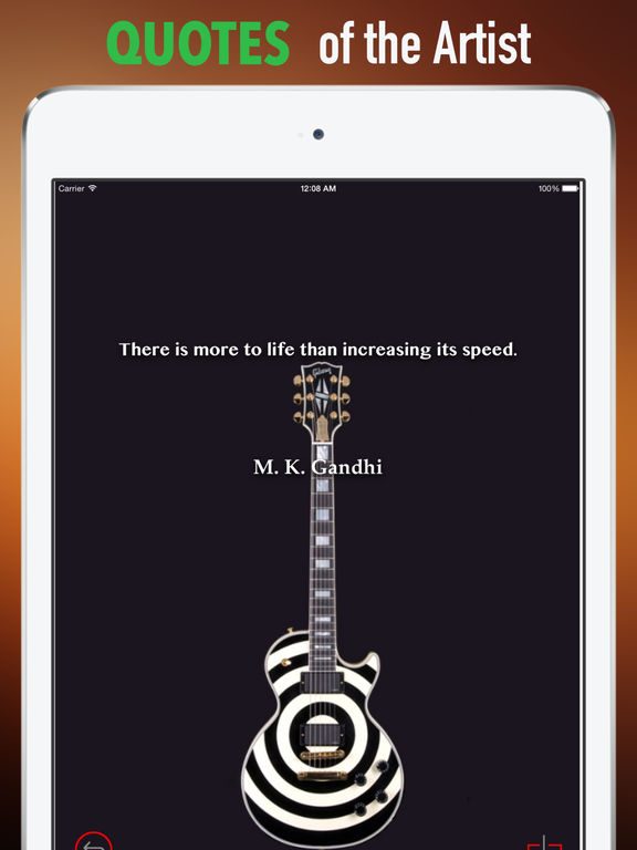 Guitars Wallpapers HD: Quotes Backgrounds with Art Pictures screenshot 9