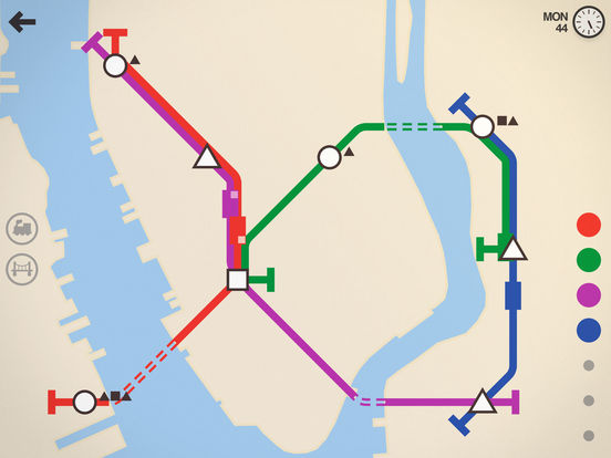 Mini Metro screenshot 6