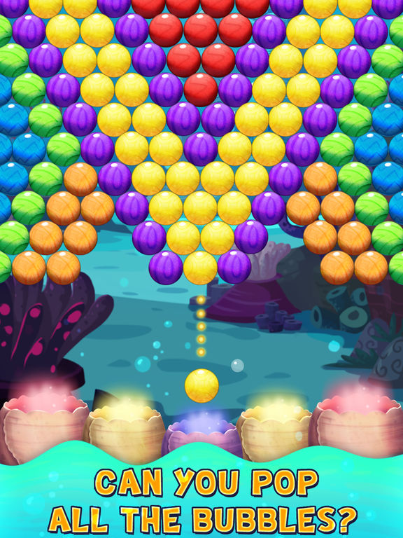 Bubble Shooter Underwater World screenshot 9