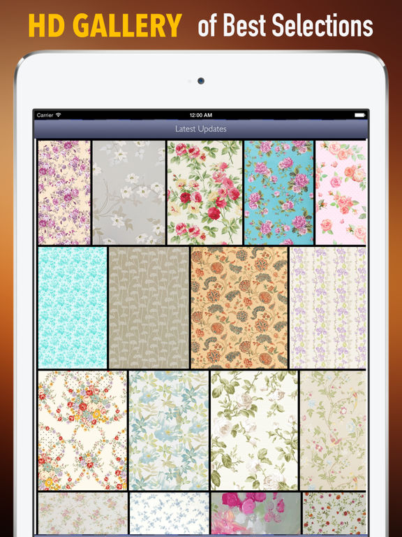 Wallpapers for Floral: HD Backgrounds with Pictures screenshot 6