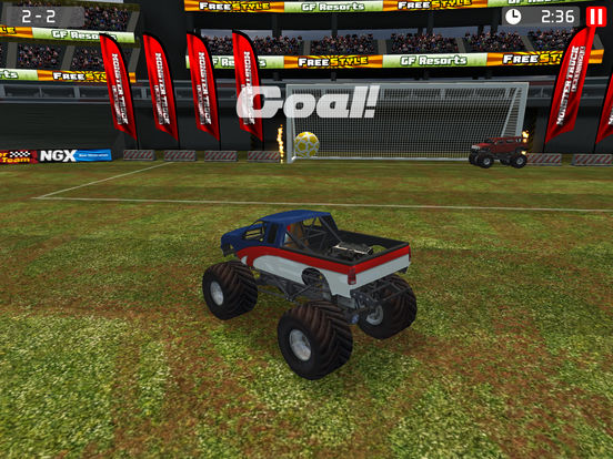 Monster Truck Soccer screenshot 8