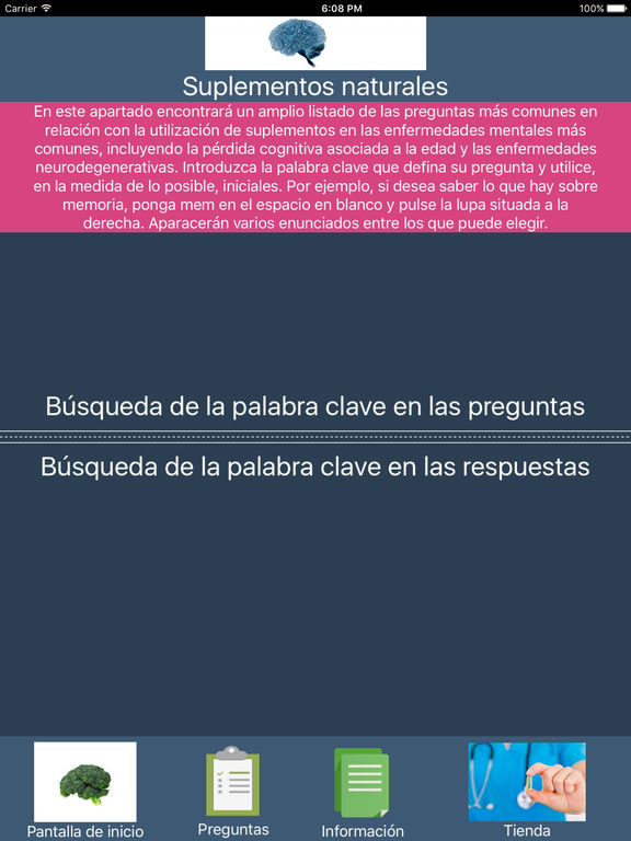 Cerebro y salud screenshot 7