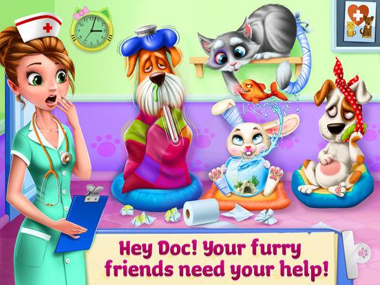 Doctor Fluff Pet Vet - Animal ER simulator screenshot 6