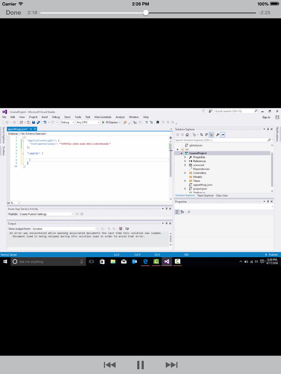 Learning ASPNET screenshot 8