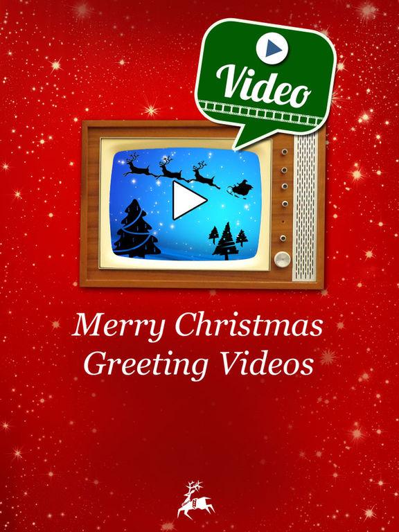 Merry Christmas Greeting Video screenshot 5