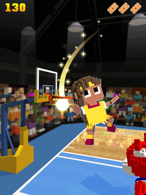 Blocky Basketball FreeStyle screenshot 9