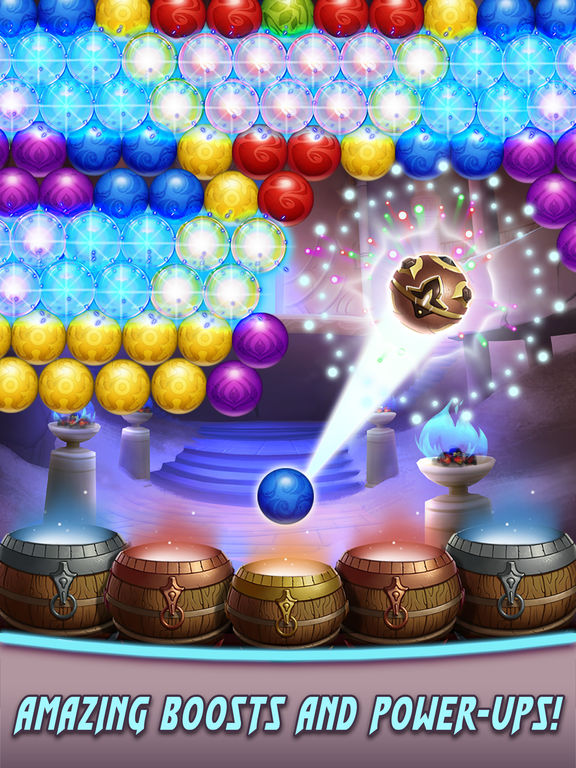 Bubble Shooter Heroes screenshot 7