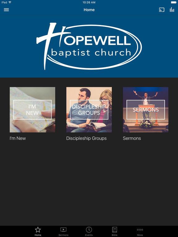 Hopewell Baptist screenshot 4