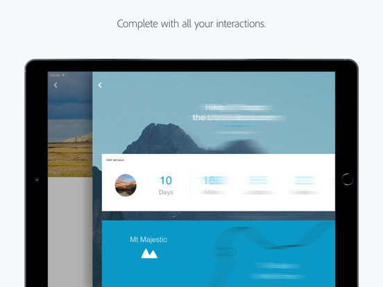 Adobe XD screenshot 7