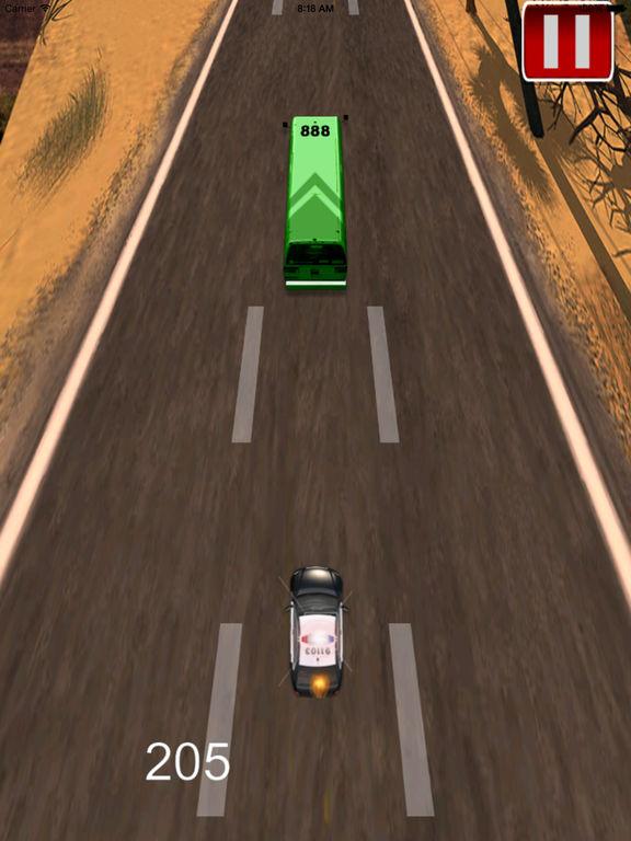 Car Police Running simulator – Awesome Vehicle High Impact screenshot 8