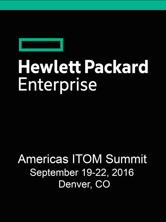 HPE ITOM Summit Denver screenshot 4