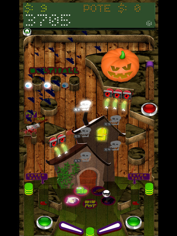 Pinball Halloween Full screenshot 3