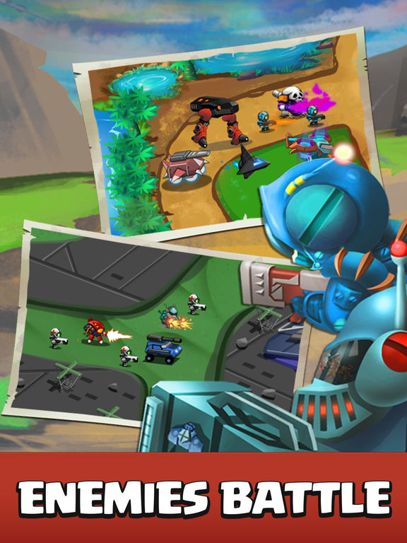 Castle Strategy TD - Defense Ancient Galaxy Hero screenshot 6