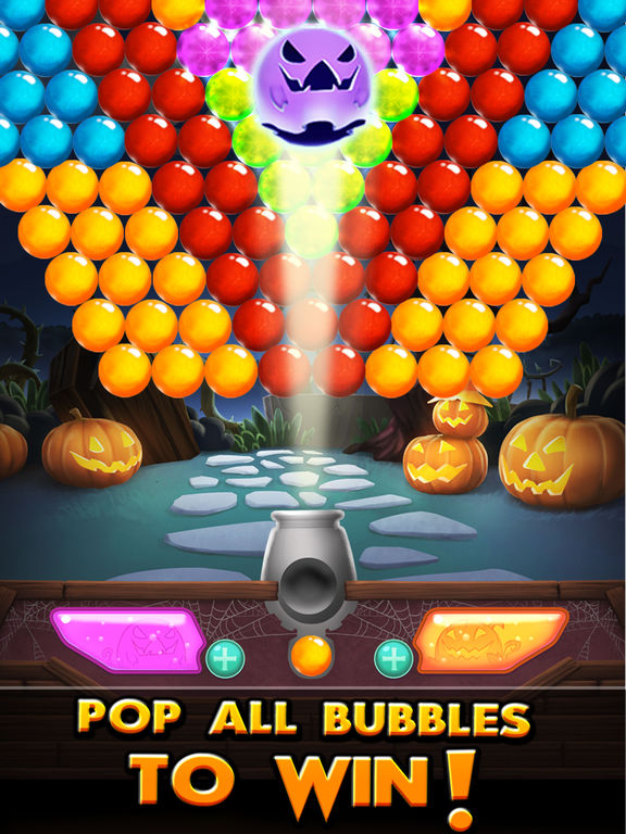 Bubble Shooter! Halloween screenshot 8