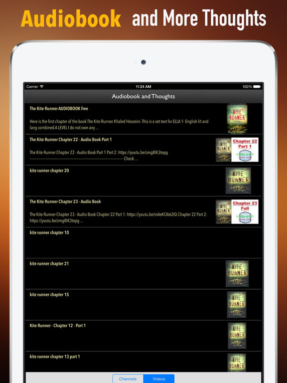 Study Guide for The Kite Runner screenshot 3