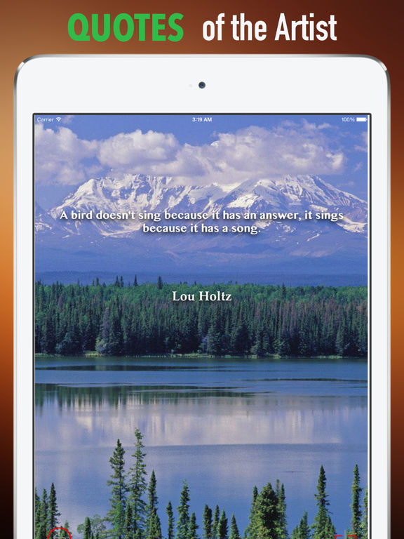 Alaska Wilderness Wallpapers HD:Quotes screenshot 9