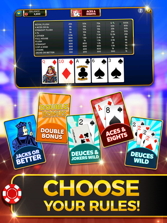 Video Poker: Royal Flush screenshot 8