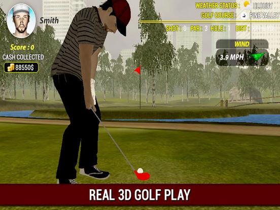 Super Professional Golf : New Free 3D Golf Game screenshot 4