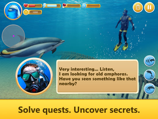 Ocean Dolphin Simulator: Animal Quest 3D screenshot 7