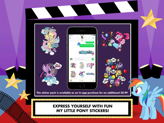 My Little Pony: Lights, Camera, Ponies! screenshot 10