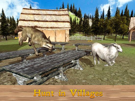 Evil Wild Wolf Simulator 3D screenshot 6