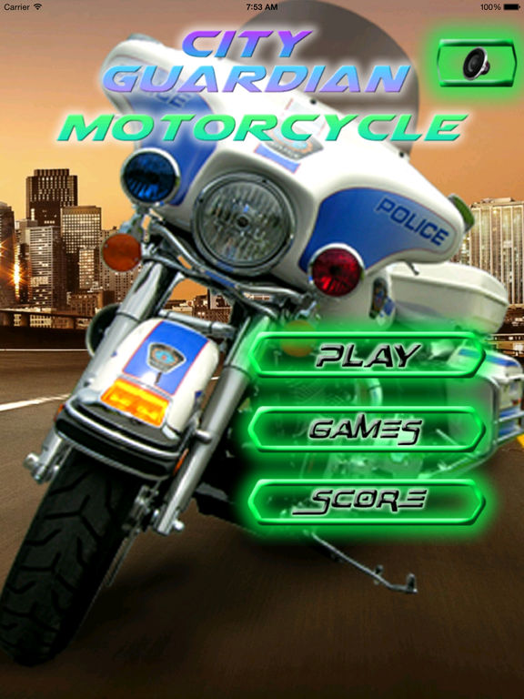 A City Guardian Motorcycle PRO - Chase Scanner Game screenshot 6