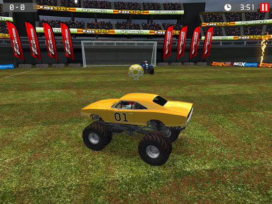 Monster Truck Soccer screenshot 9