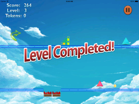 A Color Warned Jump - A Danger Geometry Game screenshot 8