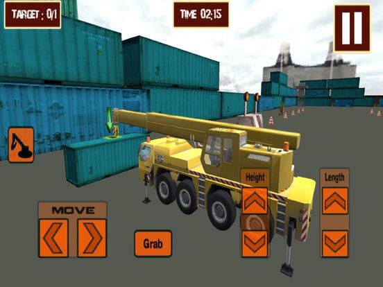 Real Crane CPEC : 3D Sim-ulation Game-s 2016 screenshot 6