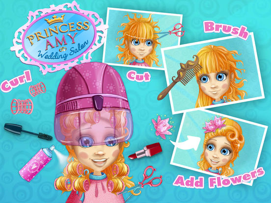 Princess Amy Wedding Salon 2 - Makeover & Spa screenshot 7