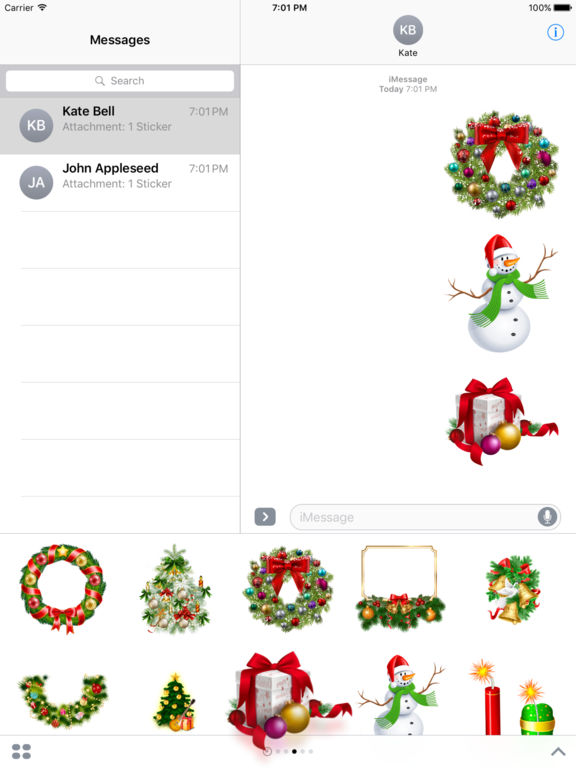 New Year Bundle Stickers for iMessage screenshot 7